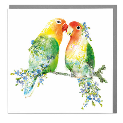 Love Birds Card - Lola Design Ltd