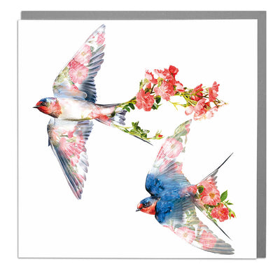 Swallows Card - Lola Design Ltd