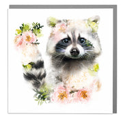 Racoon Card - Lola Design Ltd