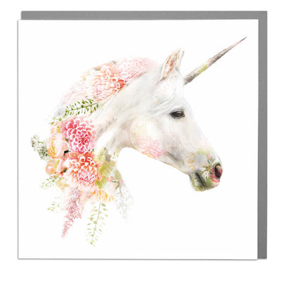 Unicorn Card - Lola Design Ltd