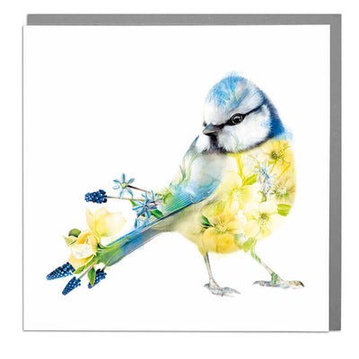 Blue Tit Card - Lola Design Ltd