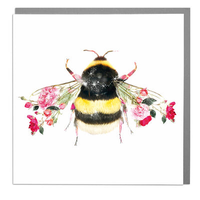 Bumble Bee Card - Lola Design Ltd