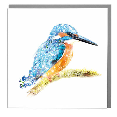 Kingfisher Card - Lola Design Ltd