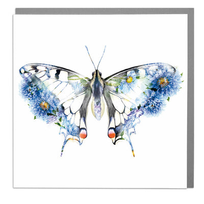 Swallowtail Butterfly Card - Lola Design Ltd