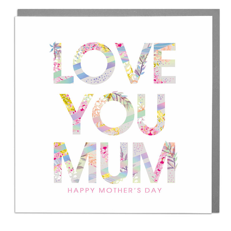 Happy Mother's Day Card - Lola Design Ltd