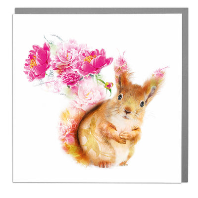 Squirrel Card - Lola Design Ltd