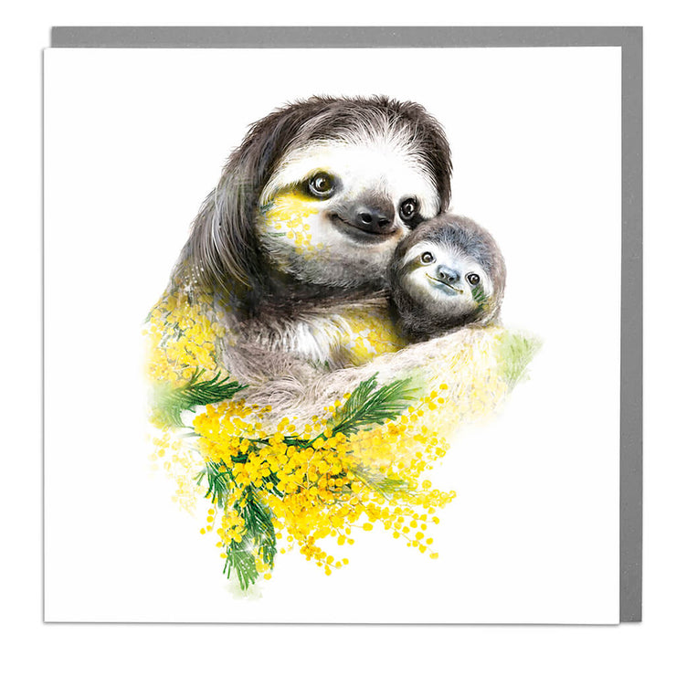 Sloths Card - Lola Design Ltd
