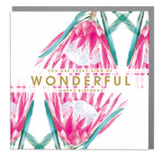 Every Kind of Wonderful Birthday Card - Lola Design Ltd