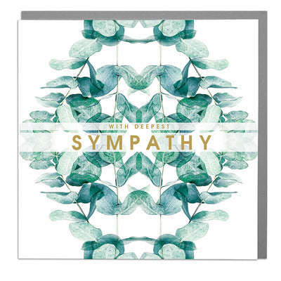With Deepest Sympathy Card - Lola Design Ltd