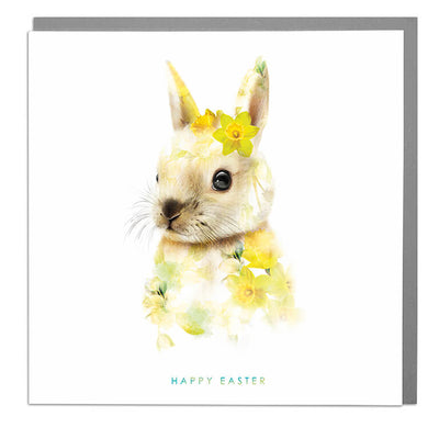 Happy Easter Bunny Card - Lola Design Ltd