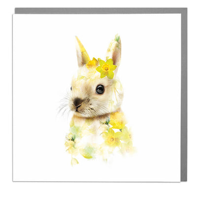 Bunny Card - Lola Design Ltd