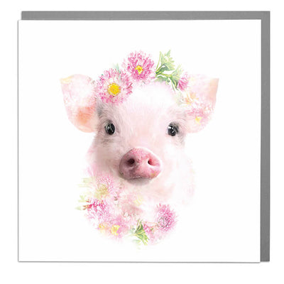 Micro Pig Card - Lola Design Ltd