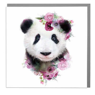 Panda Cub Card - Lola Design Ltd
