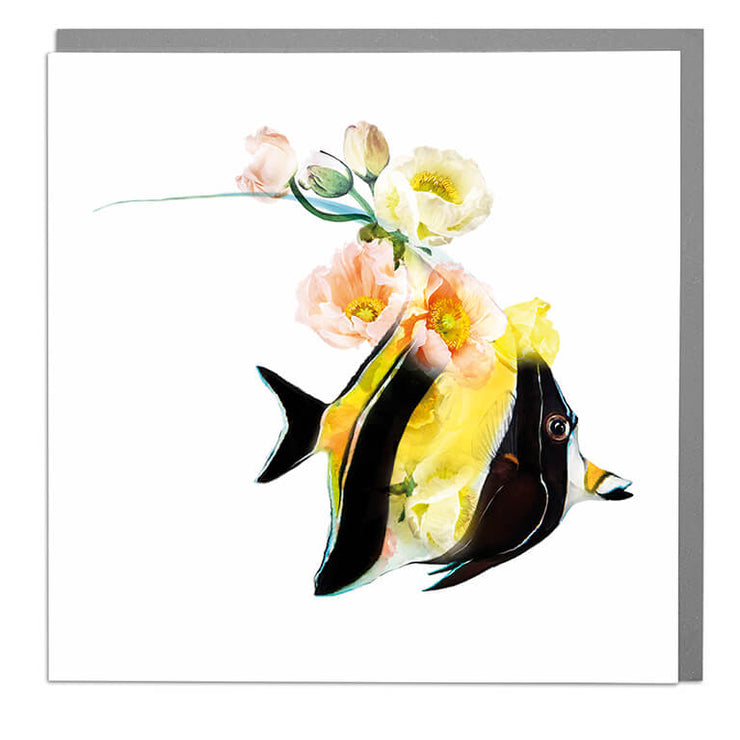 Moorish Idol Card - Lola Design Ltd