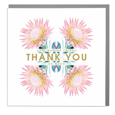 Thank You So Much Card - Lola Design Ltd