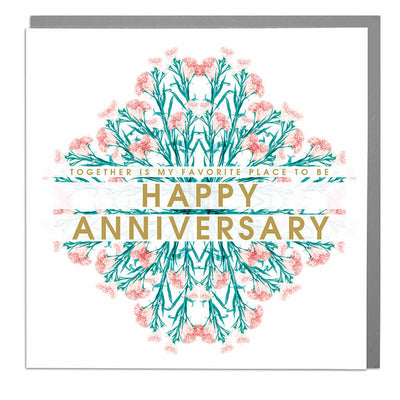 Happy Anniversary Card - Lola Design Ltd