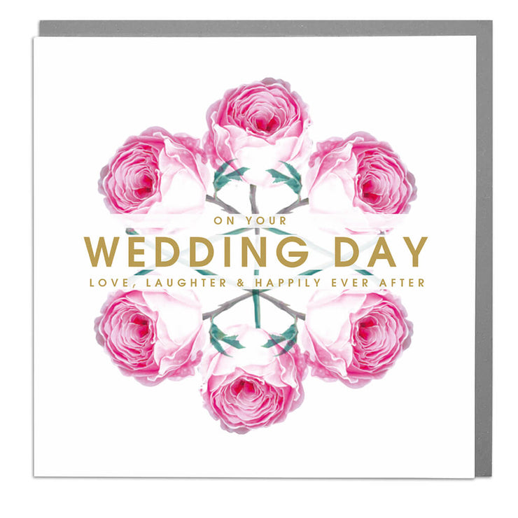 Wedding Day Card - Lola Design Ltd