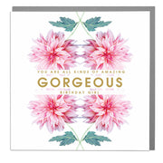 Gorgeous Birthday Girl Card - Lola Design Ltd