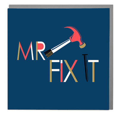 Mr Fix It Birthday Card - Lola Design Ltd
