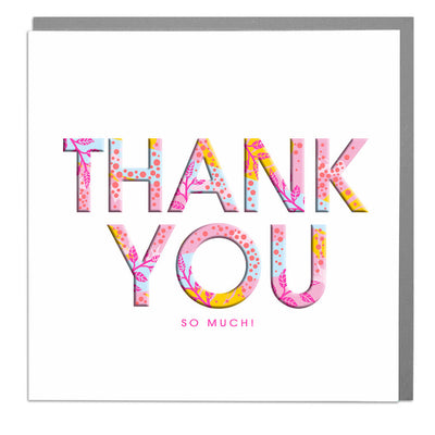 Thank You Card - Lola Design Ltd