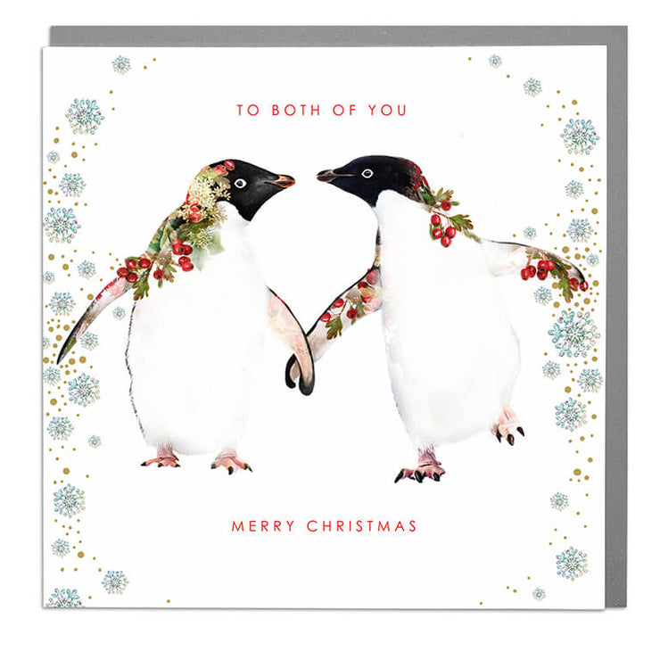 To Both Of You Christmas Card - Lola Design Ltd
