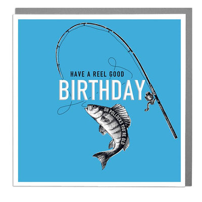 Reel Good Birthday Card - Lola Design Ltd