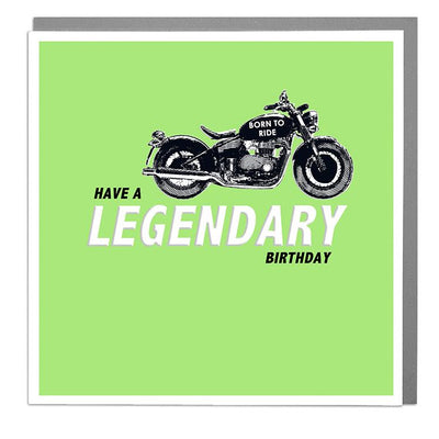 Legendery Birthday Card - Lola Design Ltd