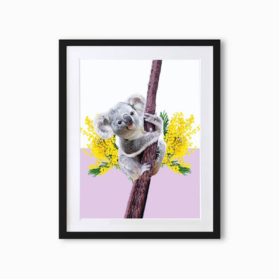 Koala Art Print - Lola Design Ltd