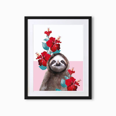 Sloth Art Print - Lola Design Ltd