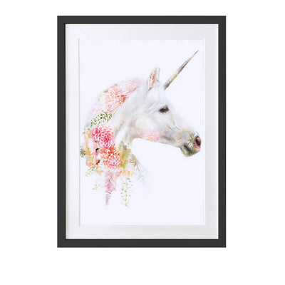 Unicorn Art Print - Lola Design Ltd