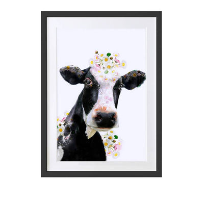 Holstein Cow Art Print - Lola Design Ltd