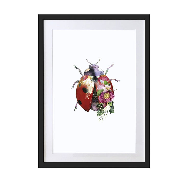 Ladybird Art Print - Lola Design Ltd