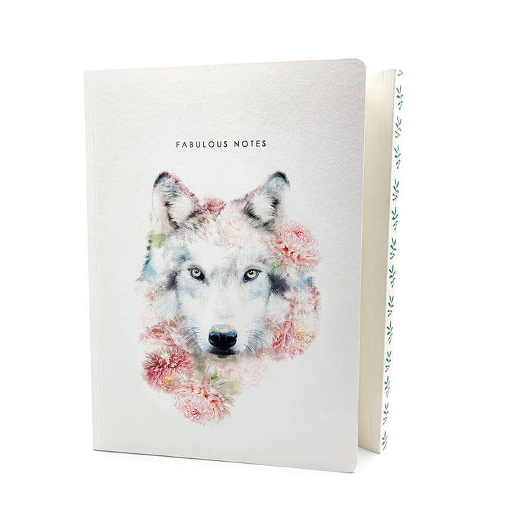 Wolf Luxury Notebook - Lola Design Ltd