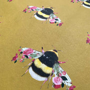 Single Bee Mustard Wallpaper - Lola Design Ltd