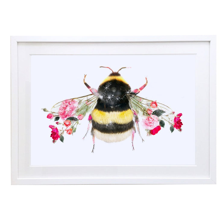 Bumble Bee Art Print - Lola Design Ltd