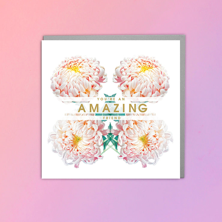 Amazing Friend Card - Lola Design Ltd
