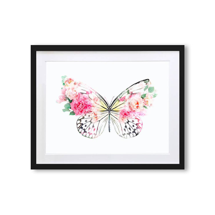 Butterfly Art Print - Lola Design Ltd