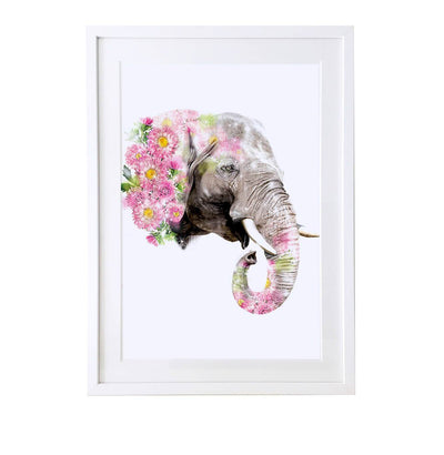 Elephant Art Print - Lola Design Ltd