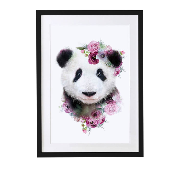 Panda Art Print - Lola Design Ltd