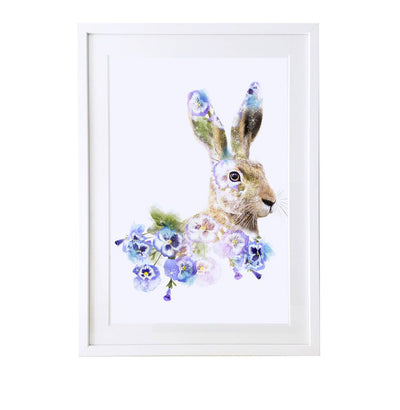 Hare Art Print - Lola Design Ltd