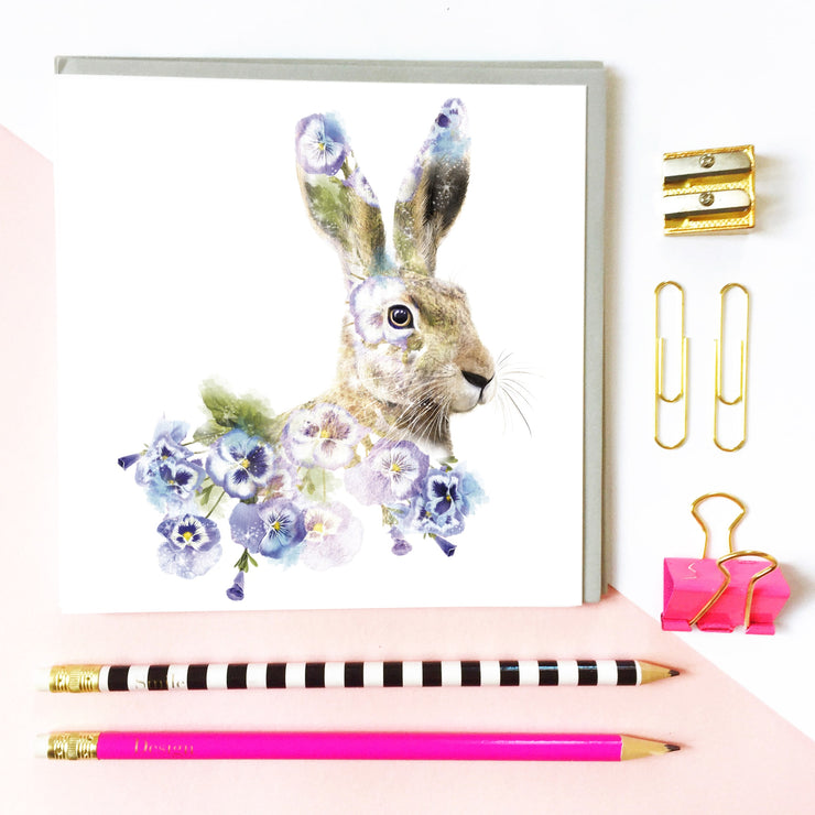 Hare Card - Lola Design Ltd