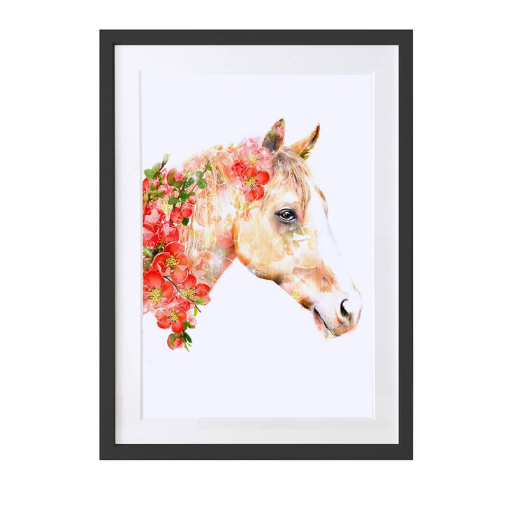 Horse Art Print - Lola Design Ltd