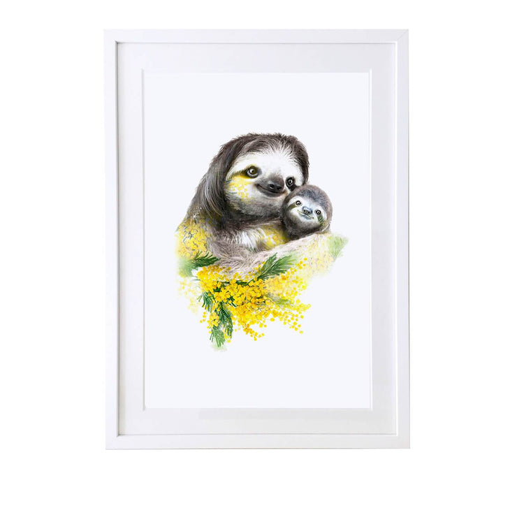 Sloths Art Print - Lola Design Ltd