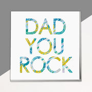 Dad You Rock Card - Lola Design Ltd