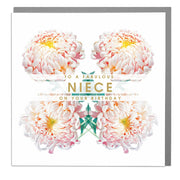 Fabulous Niece Birthday Card - Lola Design Ltd