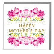 You're So Wonderful Happy Mother's Day Card - Lola Design Ltd