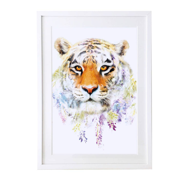 Tiger Art Print - Lola Design Ltd