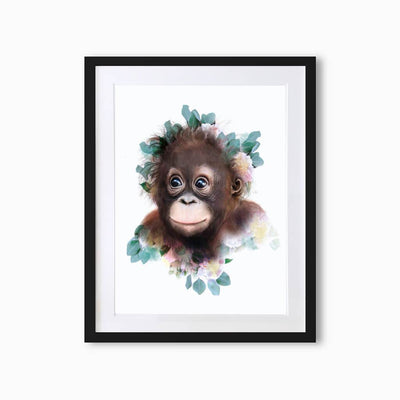 Orangutan Art Print - Lola Design Ltd