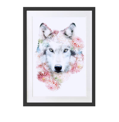 Wolf Art Print - Lola Design Ltd