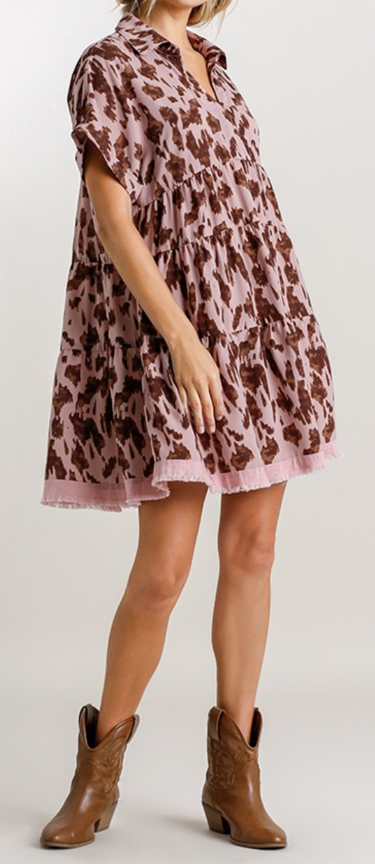 Santa Cruz Tiered Dress